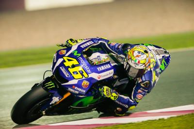 "Rossi: ""Finally we start talking about racing!"""