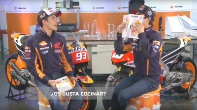¿Qué tal se le da la cocina a un piloto de MotoGP™?