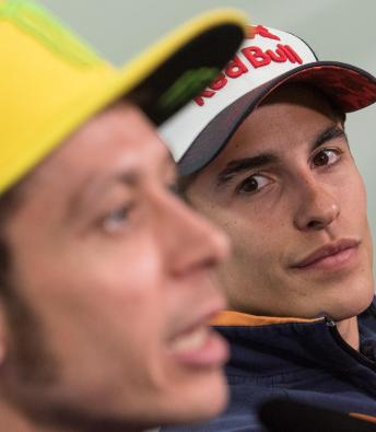 Marquez & Rossi discuss rivalry