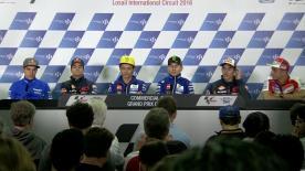 Cosa è stato detto nella conferenza stampa che apre ufficialmente il GP del Qatar.