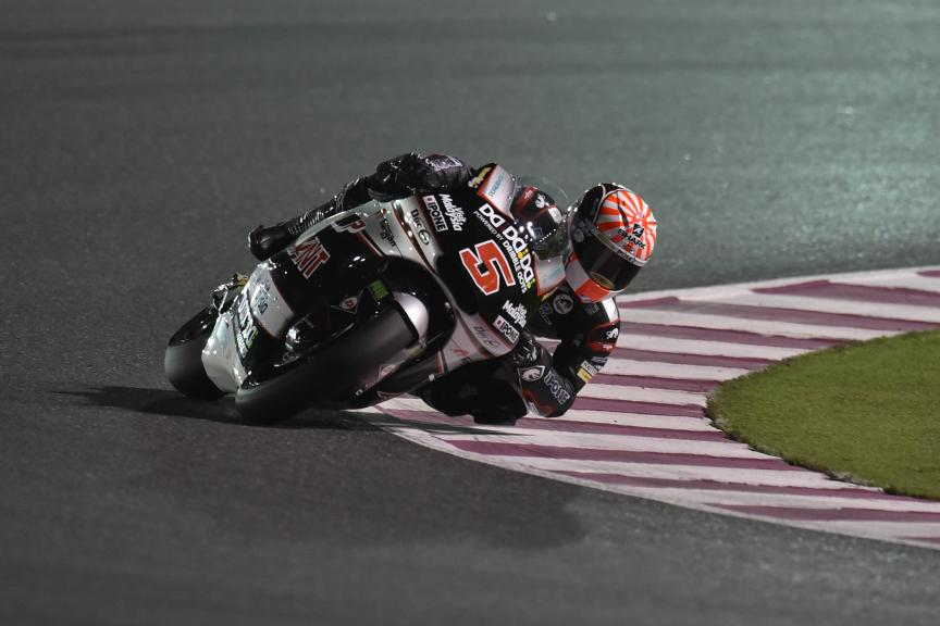 Moto 2 Action, Commercial Bank Grand Prix of Qatar