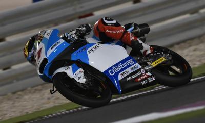 Loi, el más rápido del jueves en Moto3™