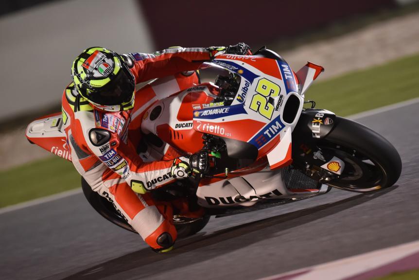 Andrea Iannone, Ducati Team, Grand Prix of Qatar