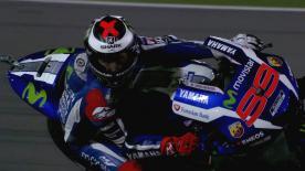 Prima giornata di libere per la MotoGP™  in Qatar, Lorenzo il migliore davanti a Rossi e Iannone.