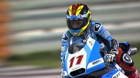 Livio Loi domina il giorno di apertura della Moto3™ nel GP del Qatar è il migliore in FP1 e FP2.