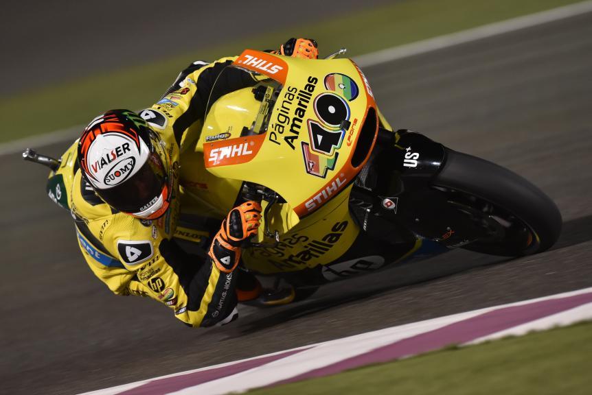 Alex Rins, Paginas Amarillas HP 40, Grand Prix of Qatar