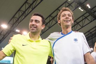 Rossi und VR46 Academy eröffnen Saison mit Fußball-Spiel