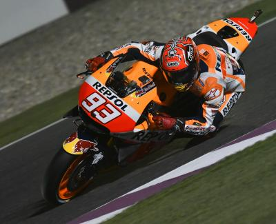 "Marquez: ""It was not the easiest FP1 I've ridden in"""