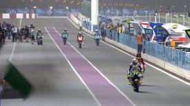 La prima sessione di prove libere per la Moto2™ al #QatarGP.