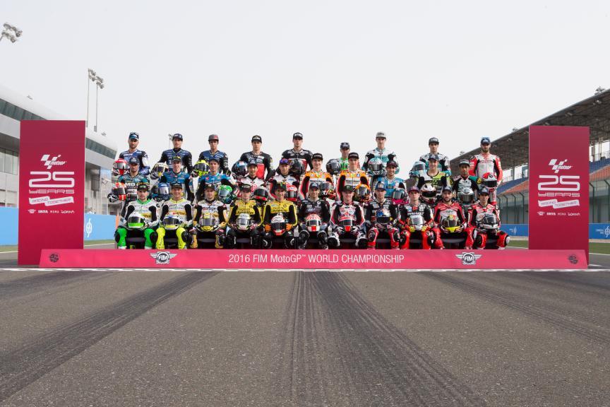 Moto2 Line-up 2016