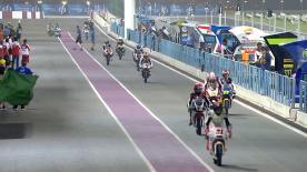 La prima sessione di prove libere per la Moto3™ al #QatarGP.