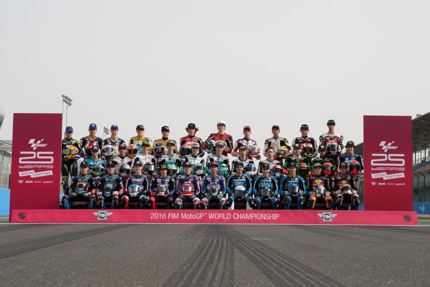 Moto3 Line-up 2016