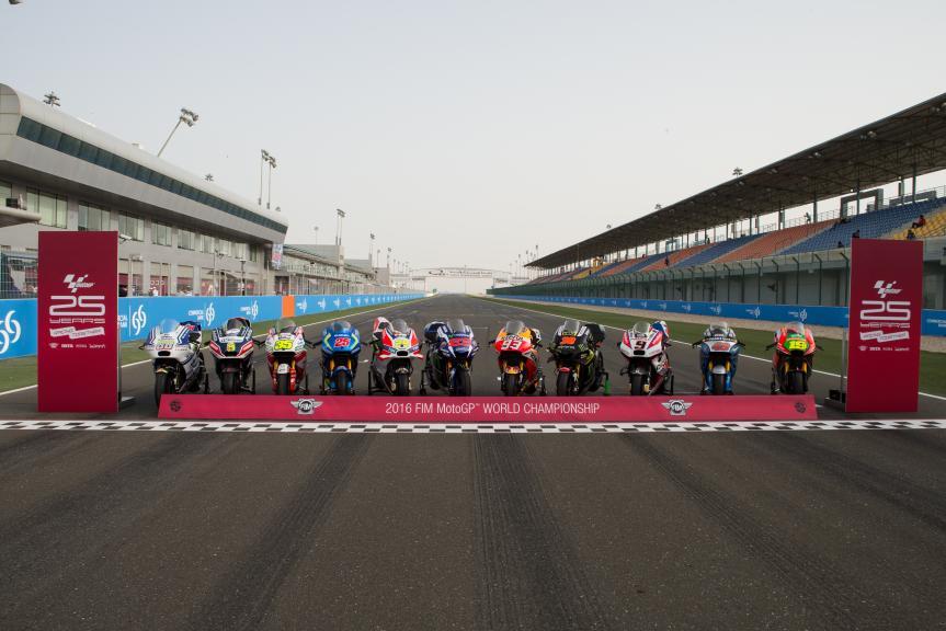 MotoGP Bikes 2016