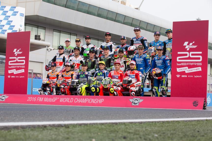 MotoGP Line-up 2016