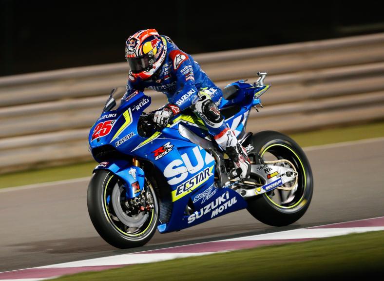 Maverick Viñales, Team Suzuky Ecstar, Grand Prix of Qatar