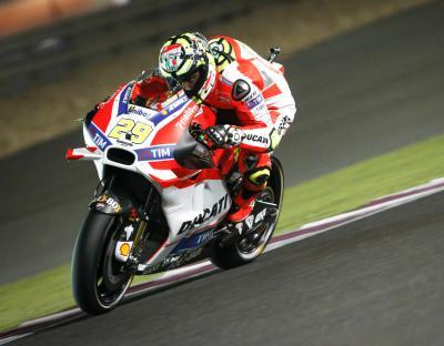 Iannone, el más rápido tras la FP3 de MotoGP™ en Qatar