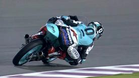Fabio Quartararo left it late to top the final Moto3™ Free Practice session ahead of Brad Binder and Livio Loi.