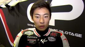 フリー走行総合25番手だった鈴木竜生が2日目を振り返る。