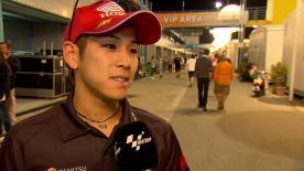 フリー走行総合23番手だった尾野弘樹が2日目を振り返る。