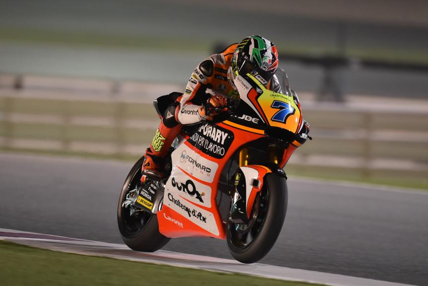 Lorenzo Baldassari, Forward Team, Grand Prix of Qatar