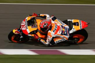 """Marquez: """"We are not far from the fight for the podium."""""""