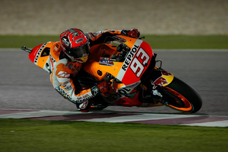 Marc Márquez, Repsol Honda Team, Grand Prix of Qatar