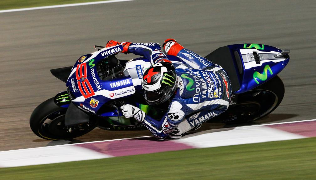 Jorge Lorenzo, Yamaha Movistar, Grand Prix of Qatar