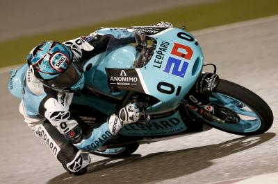 Lone Friday Moto3™ session topped by Quartararo