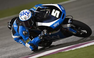 Fenati saldrá desde la pole position en Moto3™