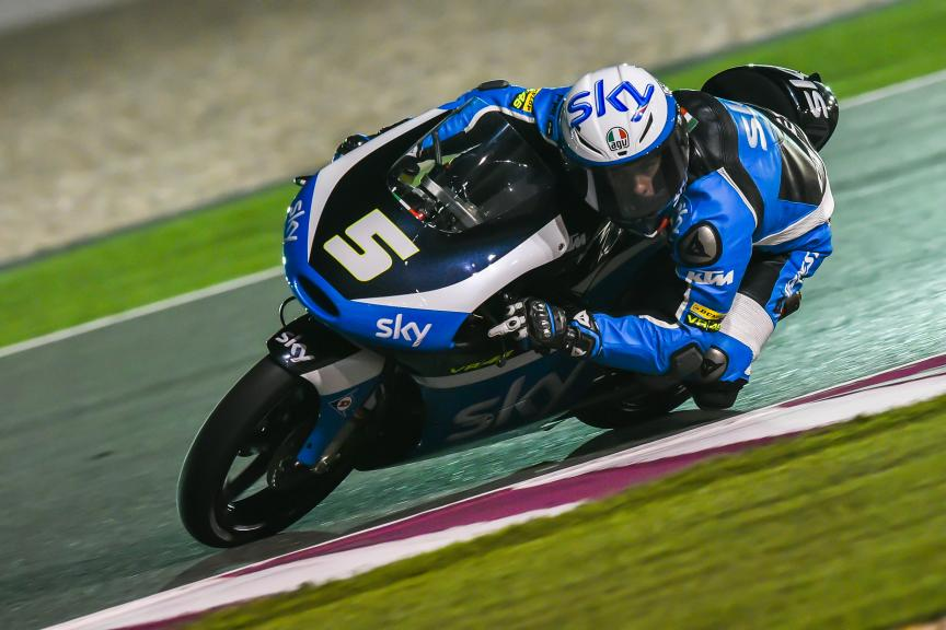Romano Fenati - Sky Racing Team Vr46 - Qatar GP