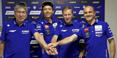 Rossi & Yamaha confirm 2-year contract extension