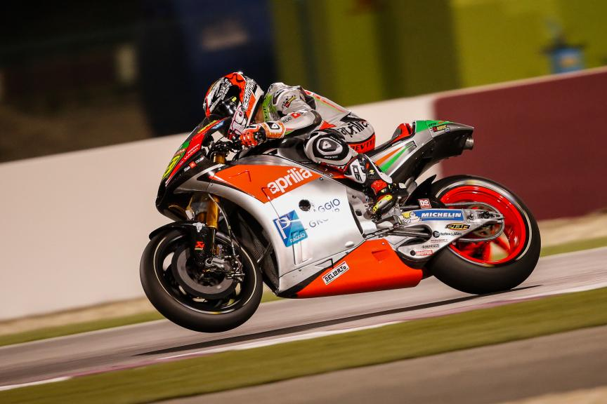 Alvaro Bautista, Aprilia Racing Team Gresini, Grand Prix of Qatar