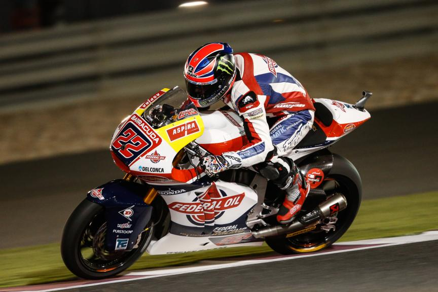 Sam Lowes, Federal Oil Gresini Moto2, Grand Prix of Qatar