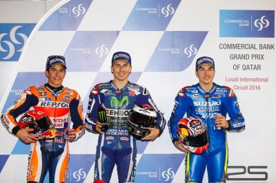 Lorenzo, pole position en el GP de Qatar de MotoGP™