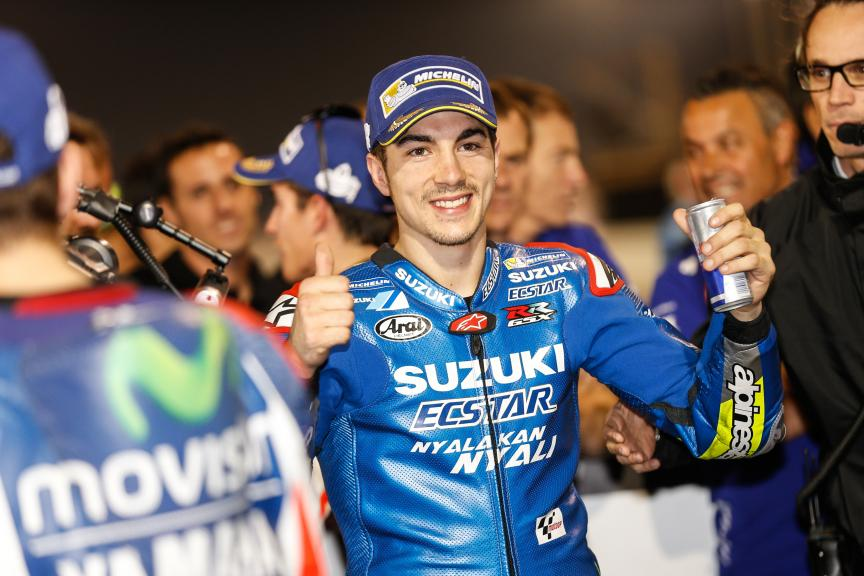 Maverick Vinales, Team Suzuki Ecstar, Grand Prix of Qatar