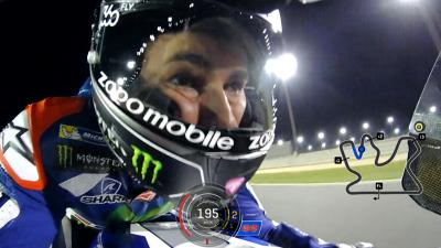 Lorenzo's pole-winning lap