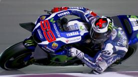 Jorge Lorenzo stormed to pole at the opening round of the season in Qatar to head up an all-Spanish front row alongside Marquez and Viñales.