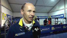 テクニカルディレクターのニコラス・グベールが開幕戦カタールGPの公式予選を振り返る。