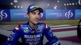 El piloto de Suzuki Ecstar cree que sólo les hace falta una buena carrera para un fin de semana casi perfecto.