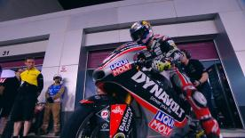 Watch Folger ride to pole position for the #QatarGP.