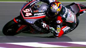 Jonas Folger secured his second career Moto2™ pole ahead of Sam Lowes and Alex Rins at the Qatar GP.