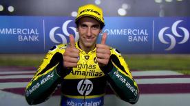 Álex Rins s'est qualifié en troisième position pour le premier Grand Prix de la saison Moto2™ 2016.