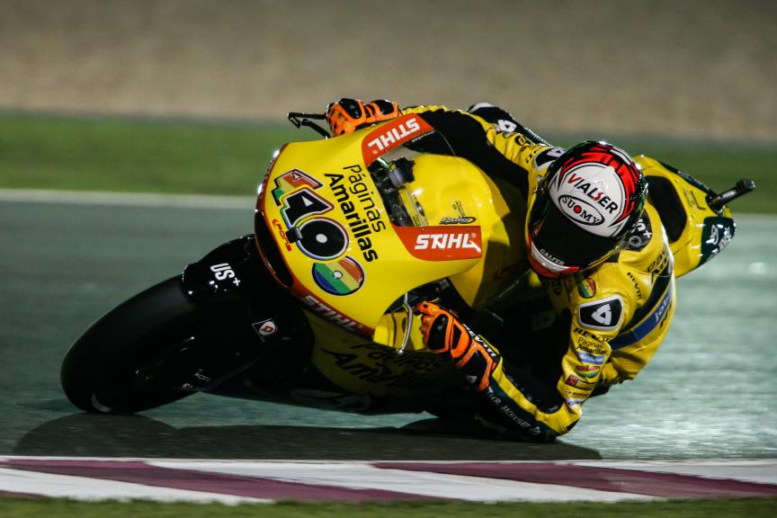 Alex Rins, Paginas Amarillas HP 40, Grand Prix of Qatar