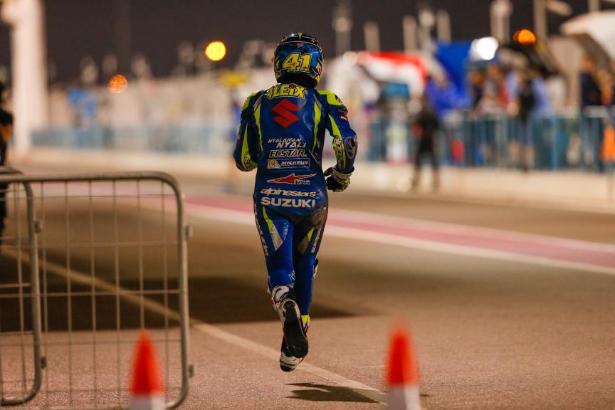 Aleix Espargaro, Team Suzuki Ecstar, Grand Prix of Qatar