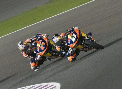 #Moto3 news: @bobendsneyder & @BradBinder_41 given a 3 place grid