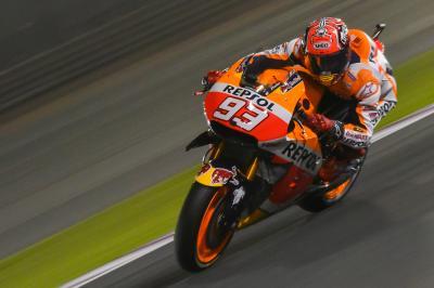 Márquez – Pole Position nach Zeitablauf