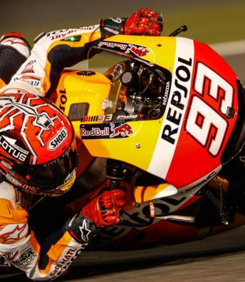 #QatarGP MotoGP™ qualifying in slow motion detail