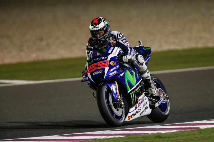 Jorge Lorenzo, Movistar Yamaha MotoGP, Grand Prix of Qatar