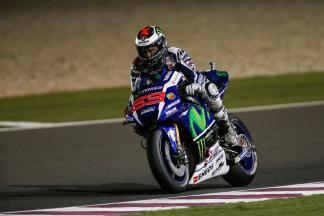 "Lorenzo: ""I almost crashed on the first lap"""