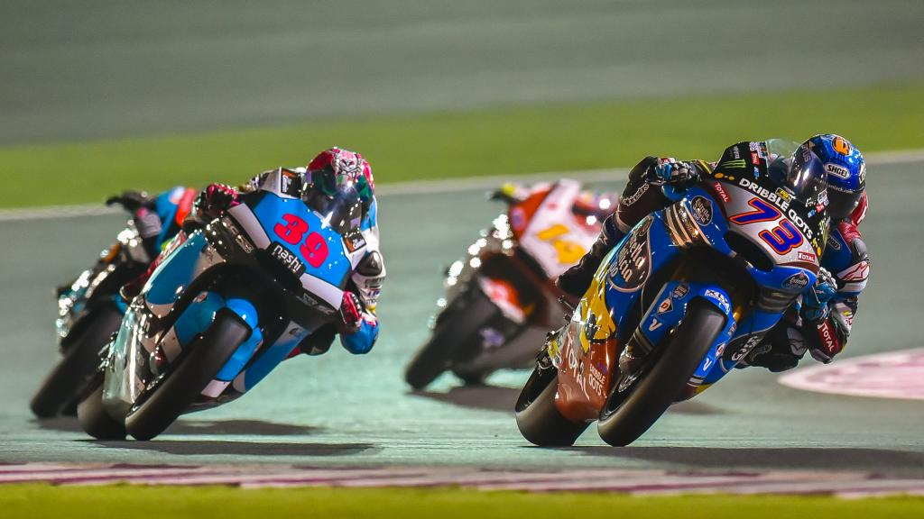 Alex Marquez andLuis Salom, Grand Prix of Qatar